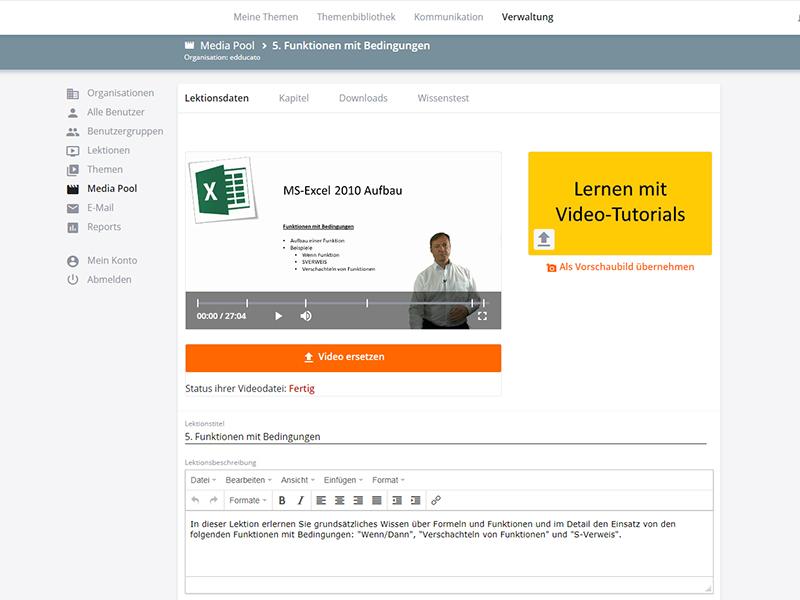 Intuitive Verwaltung - edducato
